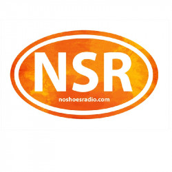 No Shoes Radio Orange Bumper Sticker